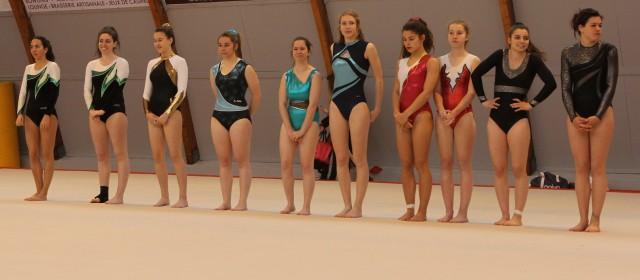 Compétition de Gym – Montrond-les-Bains
